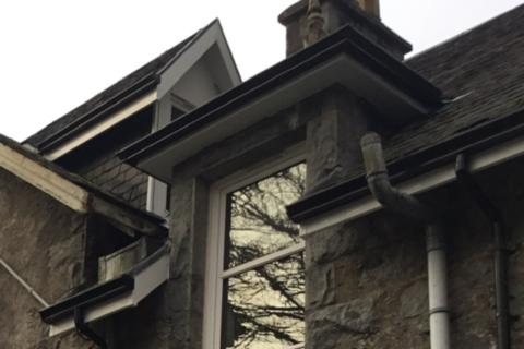 seamless aluminium guttering house