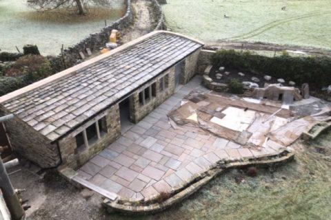 barn conversion slate roof