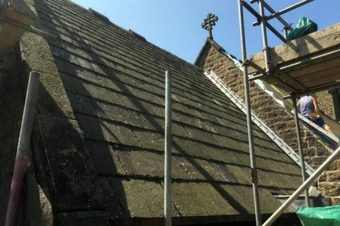 church roof slates