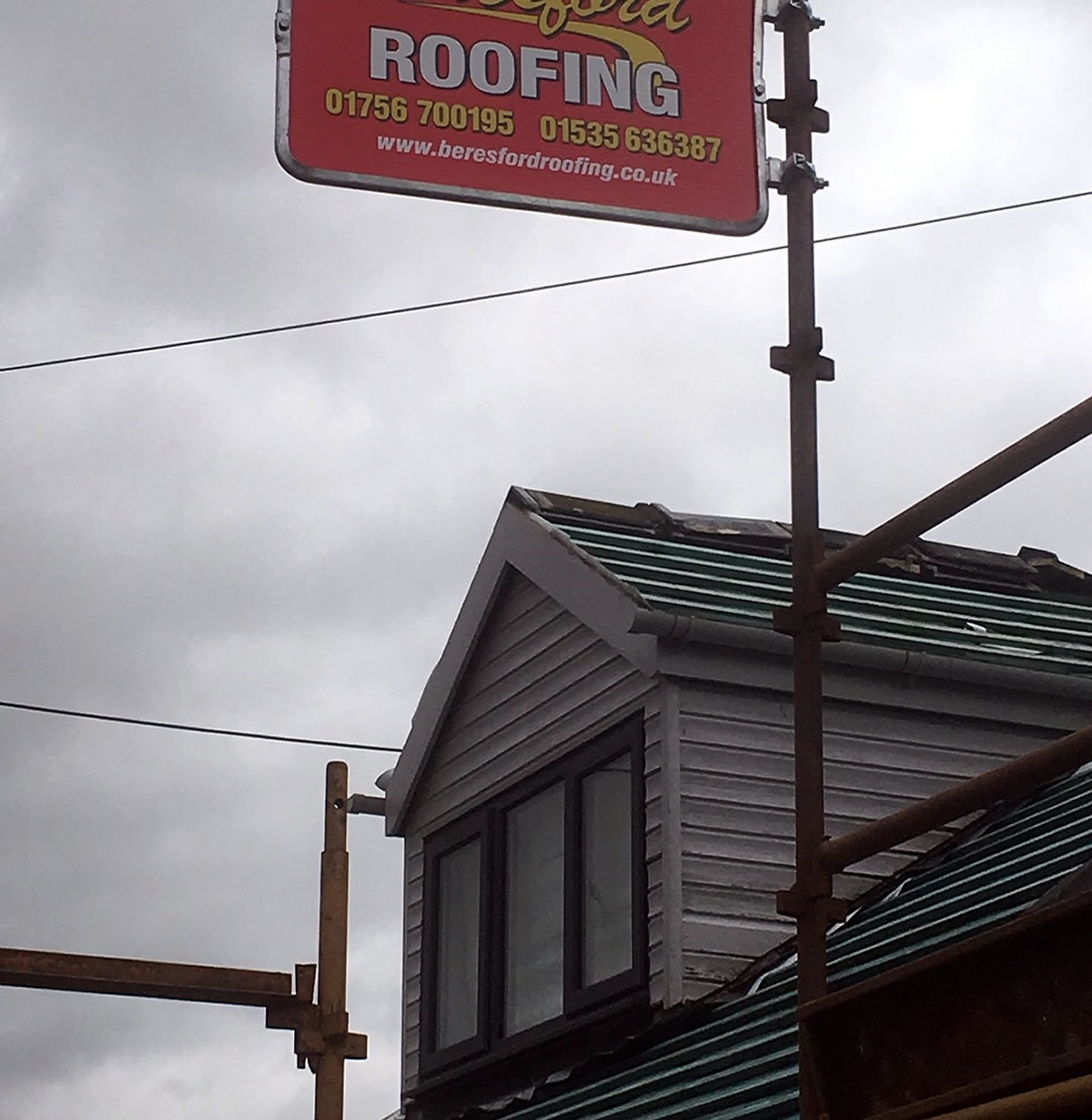 roofing sign